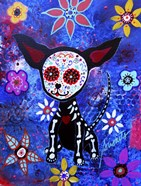 Chihuahua Dia De Los Muertos