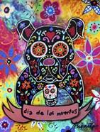 Dia De Los Muertos Bulldog