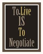 Negotiation 1