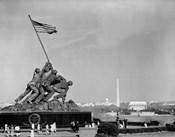 1960s Marine Corps Monument In Arlington