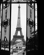 1920s Eiffel Tower Built 1889