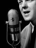1950s Close-Up Of Man Announcer