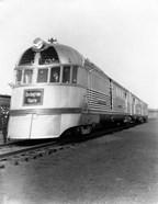 1930s Zephyr Train Engine Cars