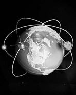 1960s Model Of Earth