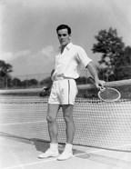 1930s Man Wearing Tennis Whites