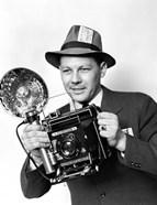1930s 1940s 1950s Press Photographer Man