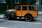 1930s Wood Body Station Wagon Antique