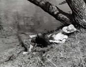 1940s Barefoot Boy Sleeping