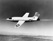 1940s 1950s Bell X-1 Us Air Force Supersonic Plane