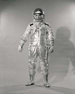 1960s Standing  Portrait Of Astronaut In Space?