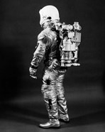 1960s Side View Of Astronaut