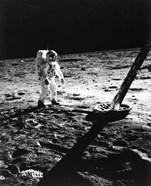 1960s Astronaut Buzz Aldrin In Space