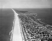 1970s 1980s Aerial Of Jersey Shore