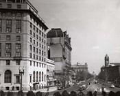 1940s Pennsylvania Avenue With Capitol Building