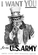 1910s World War One I Want You Uncle Sam