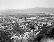 1940s View Overlooking Universal City Ca Usa