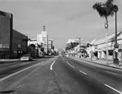 1960s Street Scene West Wilshire Blvd Los Angeles, California