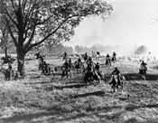 Army Regiment Cavalry Coming To Rescue