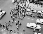 1950s New York City, Ny 5Th Avenue View?