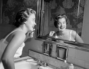 1950s Smiling Woman