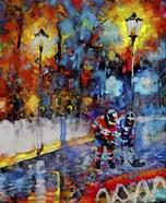 Abstract Hockey Kids2