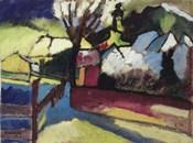 Herbstlandschaft mit Baum (1910)