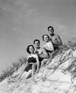 1930s Group Young Men Women