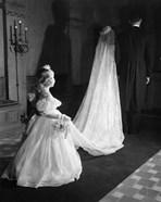 1950s Little Flower Girl Maid Of Honor