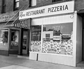 1960s Restaurant Pizzeria Storefront