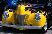 1939 1940 Ford Flame Job Painted Hot Rod Automobile
