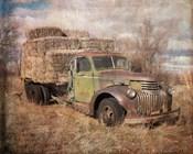 Vintage Hay Truck
