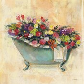 Bathtub Bouquet I