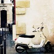 Paris Vespa Color