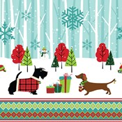 Winter Pet Scene