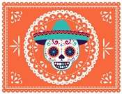 Calavera Orange