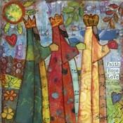 Three Kings Love Faith Hope
