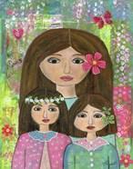 Madre Y 2 Hijas