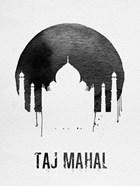 Taj Mahal Landmark White