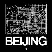 Black Map of Beijing