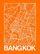Orange Map of Bangkok