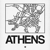 White Map of Athens