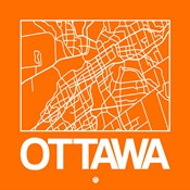 Orange Map of Ottawa