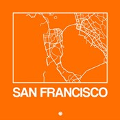 Orange Map of San Francisco