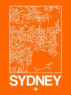 Orange Map of Sydney