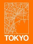 Orange Map of Tokyo