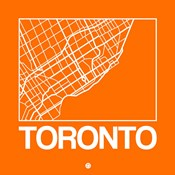 Orange Map of Toronto