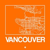 Orange Map of Vancouver