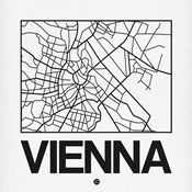 White Map of Vienna