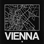Black Map of Vienna
