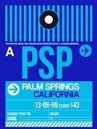 PSP Palm Springs Luggage Tag II